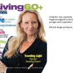 cover of Living 60+ magazine