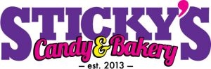 Logo Design for Sticky's Candy & Bakery